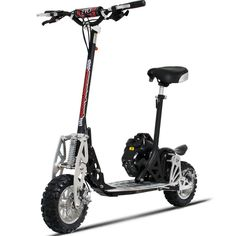 Evo 2 Speed Gas Powered Scooter 2X 50CC W/Suspension & Free Seat