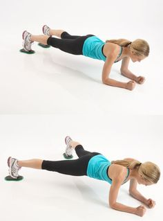 """3 Get - Fit - Fast Moves -- TIP: You can use furniture """"sliders"""" for these moves -- easily found at most home improvement stores, and a FRACTION of the cost of ValSlide!!"""