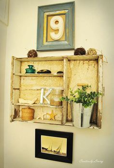 the downstairs bathroom is finished, bathroom ideas, crafts, repurposing upcycling, Old drawer