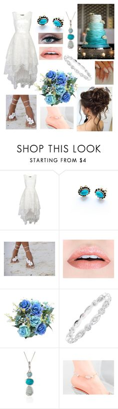 """""""Beach Wedding"""" by thegreendino ❤ liked on Polyvore featuring Poppy Jewellery and SPECIAL DAY"""