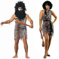 Pareja Disfraces de Cavernícolas #parejas #disfraces #carnaval
