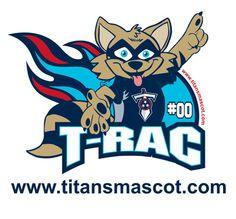 T-Rac- Tennessee Titans Mascot