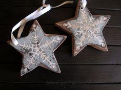 Reclaimed Wood, Pallet Wood, Christmas Ornaments, Stars