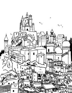 remixed city drawn from photos by arimoore, via Flickr