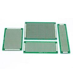 86040 Ücretsiz Kargo 4 adet 5x7 4x6 3x7 2x8 cm çift Yan bakır prototip pcb Evrensel Kurulu elektronik diy kiti PCB