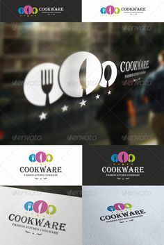 Cookware – Elegant Cuisine Logo Emblem – An excellent logo template highly suitable for food and catering businesses. Fashion and elegant restaurant logotype. Illustration for cooking business, fast food, restaurant, cookware shops, cuisine stores, etc