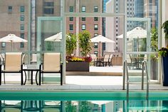 Rooftop at Revere (Boston, MA), the newly renovated space overlooking Boston Common. You'll be surrounded by stylish staff dressed in head-to-toe Pret-à-Surf, have access to an outdoor sun deck and indoor pool, and rest easy knowing that — in case you miss it too much — the city's right next door.