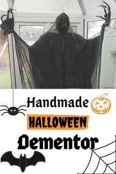 If you're a fan of Harry Potter and you want to get creative this Halloween, check out this Homemade Dementor. With a step by step 'how to' video to help you create your own. Homemade Halloween Decorations, Halloween Treats, Halloween Costumes, Best Kids Costumes, Adult Costumes, Harry Potter Dementors, Yoda Costume, Scary Clowns, Halloween Celebration