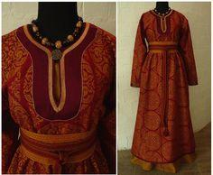 Rus' inspired dress by Savelyeva Ekaterina  https://www.facebook.com/savelyeva.ekaterina.7?__mref=message_bubble