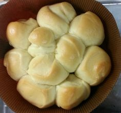 Every time I make these rolls, I get raving compliments!  This is an excellent potluck dish!  It is very important to use McCormick brand coconut extract for the right flavor!  For the fluffiest rolls, make sure all the ingredients and the kitchen are warm.  This was intended to be a copycat of Kings Hawaiian Rolls, but according to my husband, these taste way better when done right!