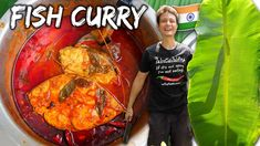 Indian Street Food 🇮🇳 !! Spicy Kerala Fish Curry Recipe! 🐟 🌶️ | Street Food at Home Ep. 2 - YouTube Japanese Street Food, Thai Street Food, Indian Street Food, Curry Recipes, Vegetarian Recipes, Kerala Fish Curry, Vietnamese Dessert, Philippines Food, How To Cook Fish