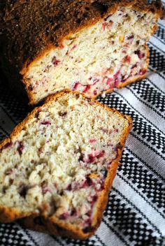 Super Easy and Delicious #glutenfree Cranberry Bread