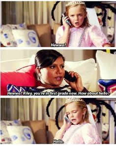 The Mindy Project....why is she so damn funny