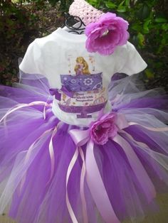 Tangled Birthday Outfit - love the tutu and hairband