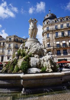 Montpellier, the delightful capital city of the Languedoc-Rousillon region of southern France. This post explores the bloggers first visit