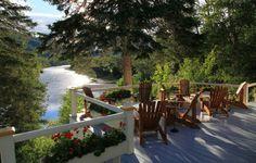 Salmon Lodge, Gaspésie