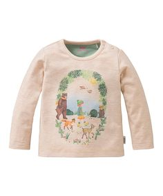 Look what I found on #zulily! Oilily Beige Animals Tip Tee - Infant, Toddler & Girls by Oilily #zulilyfinds