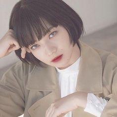 Pin on 小松菜奈 Bobbed Hairstyles With Fringe, Bob Hairstyles, Japanese Beauty, Asian Beauty, Shortish Hair, Japanese Princess, Komatsu Nana, Girls Frontline, Girl Short Hair