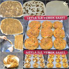 Haşhaşlı Cevizli Burma Çörek Tarifim   Leyla İle Yemek Saati