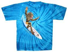 Surfing Monkey Tie T-573