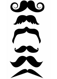 Moustache Tattoos: For Your Face or Finger!