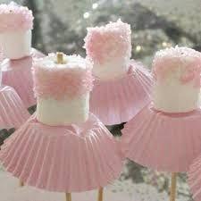 Resultado de imagem para enfeites de mesa com marshmallow