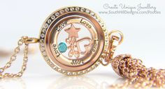 South Hill Designs - Rose Gold Linkable Locket