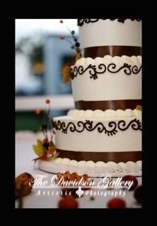 My wedding cake, fall theme :)
