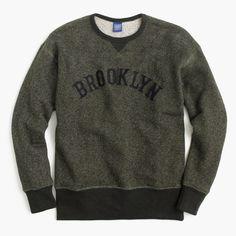 Ebbets Field Flannels® Brooklyn Eagles sweatshirt : sweatshirts | J.Crew