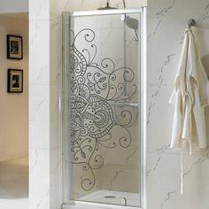home decor inspo Glass Design, Door Design, House Design, Partition Design, Room Decor, Wall Decor, Home And Deco, Shower Doors, Vinyl Wall Decals