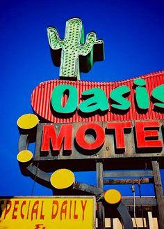 Oasis Motel - Los Angeles, California.