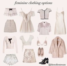 Mode Outfits, Girly Outfits, Cute Casual Outfits, Aesthetic Fashion, Aesthetic Clothes, Angel Aesthetic, Teen Fashion, Fashion Outfits, Mode Chic