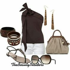 Outfit casual para una salida de compras.