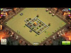 Clash of Clans TH5 vs TH5 Giant, Barbarian, Archer & Balloon Clan War 3 Star Attack ⋆ Clash of Clans 3 Stars Clan Wars