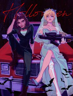 Cute Lesbian Couples, Lesbian Art, Gay Art, Foto Cartoon, Cartoon Art, Pretty Art, Cute Art, Aesthetic Art, Aesthetic Anime
