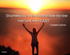 Volunteers do not necessarily have the time, they have the HEART. Frontier.ac.uk | blog.Frontiergap.com #QuoteOfTheDay #inspirationalquote #inspiration #quote #dogood #volunteer #socialchange #giveback #frontiervolunteer