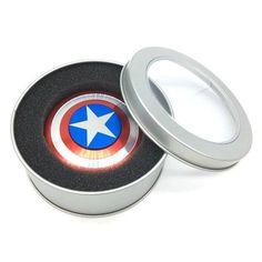 Captain America Premium Plated Fidget Spinner