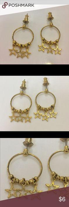Vintage star earrings Great condition Vintage Jewelry Earrings