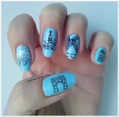 Unghiutze colorate-Happy nails: Alphabet nail art challenge - Letter J