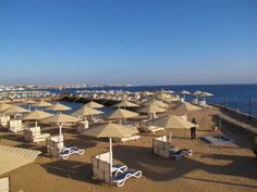 SUNRISE Holidays Resort Hotel beach picture in Hurghada by Дарья | HolidayCheck.com