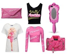 Moschino Barbie Collection SS15 as seen on theldndiaries.com