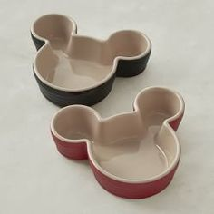 Le Creuset Disney Ramekins, Mickey, Set of 2