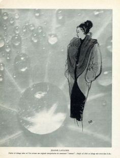 Jeanne Lafaurie 1946 Pierre Pages, Drop of Water by Brassaï Brassai, Vintage Ads, Drop, Antiques, Illustration, Water, Stone, Antiquities, Gripe Water