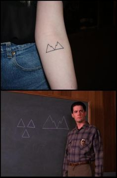 Not for Twin Peaks but for the design- maybe just one mountain on the wrist