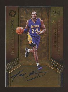 b47b7bb9787 2017-18 Panini Opulence Identifying INK Kobe Bryant Lakers AUTO 27/35