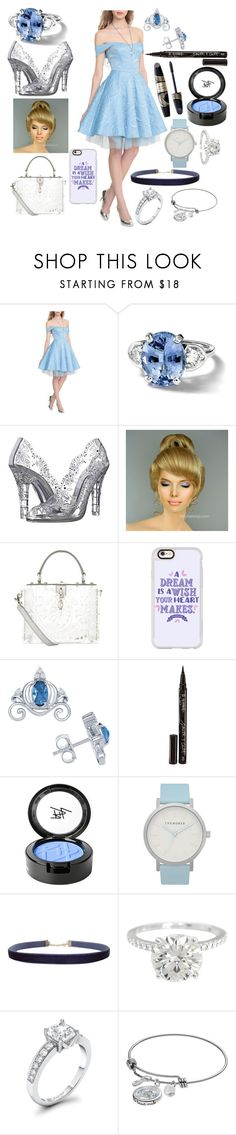 """""""Maloween Day 9: DIY Cinderella Outfit!"""" by sisibff ❤ liked on Polyvore featuring Disney, Dolce&Gabbana, Casetify, Smith & Cult, Beauty Is Life, Max Factor, The Horse and Humble Chic"""