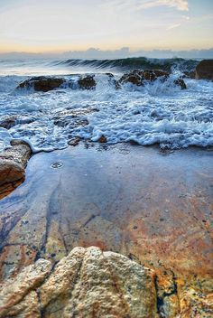 Early Morning Waves At Southbroom Point by Bevan Langley Ocean Artwork, Kwazulu Natal, Creative Workshop, The World's Greatest, Early Morning, Fine Art America, South Africa, Travel Destinations