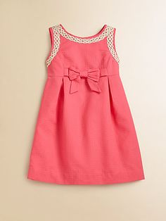 Lilly Pulitzer Kids - Toddler's & Little Girl's Mini Evie Dress - Saks.com