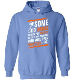 We Solve Our Problems With Wide Open Throttles T Shirt - Hoodie