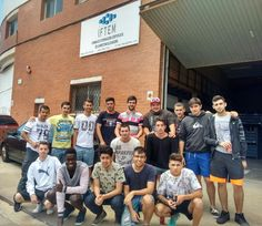 Alumnos de Ponrec que realizaron formación de Carretillas Elevadoras en Cornellá de Llobregat del 14 al 17 de Junio